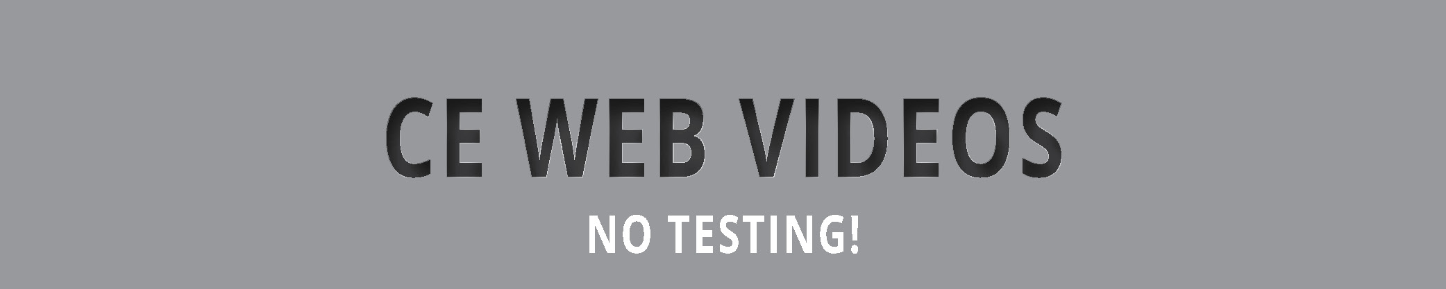 CE Web Videos