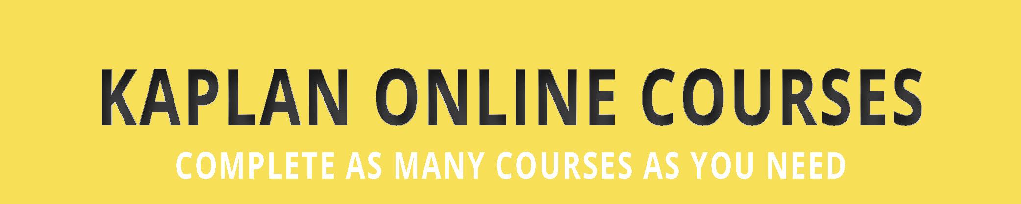 Kaplan Online Courses