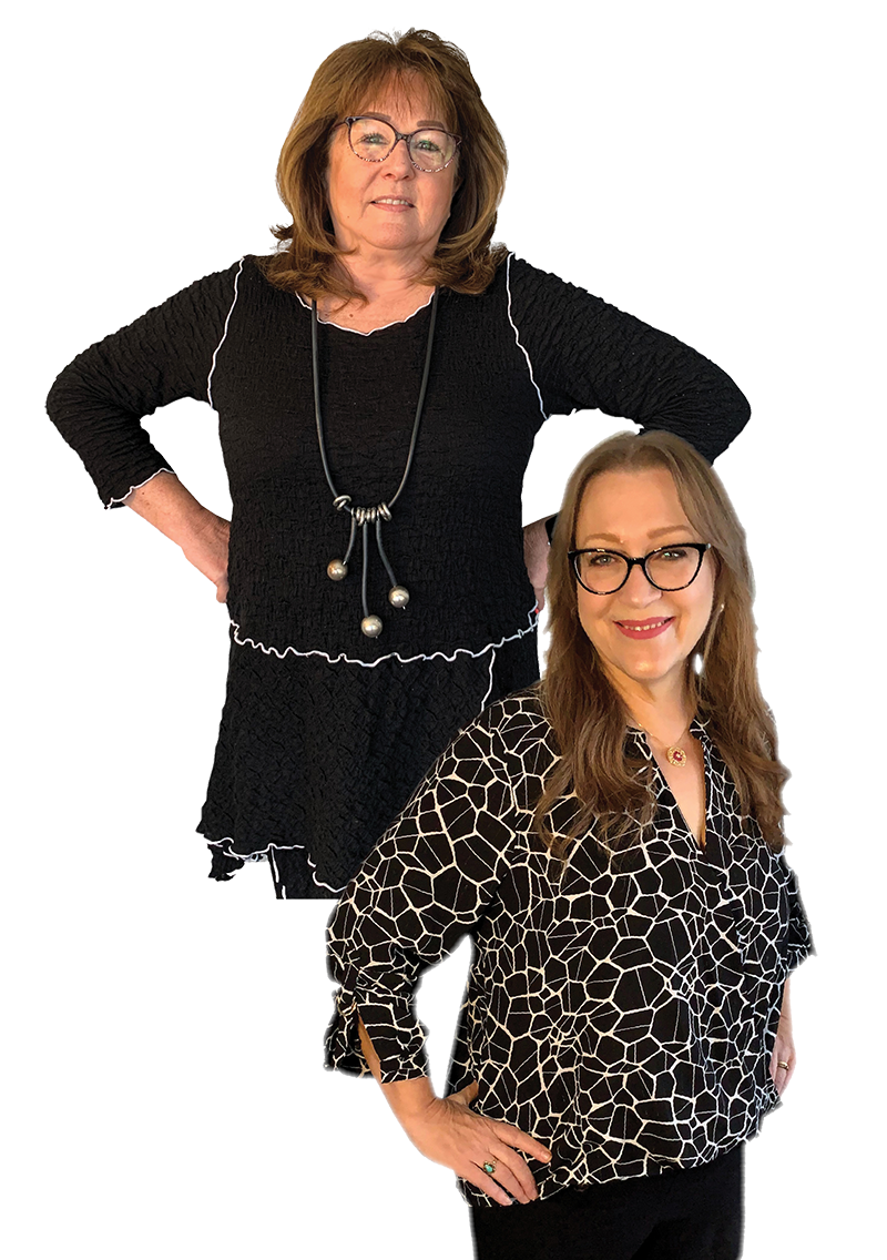 Staff Pic of Patty and Rachel