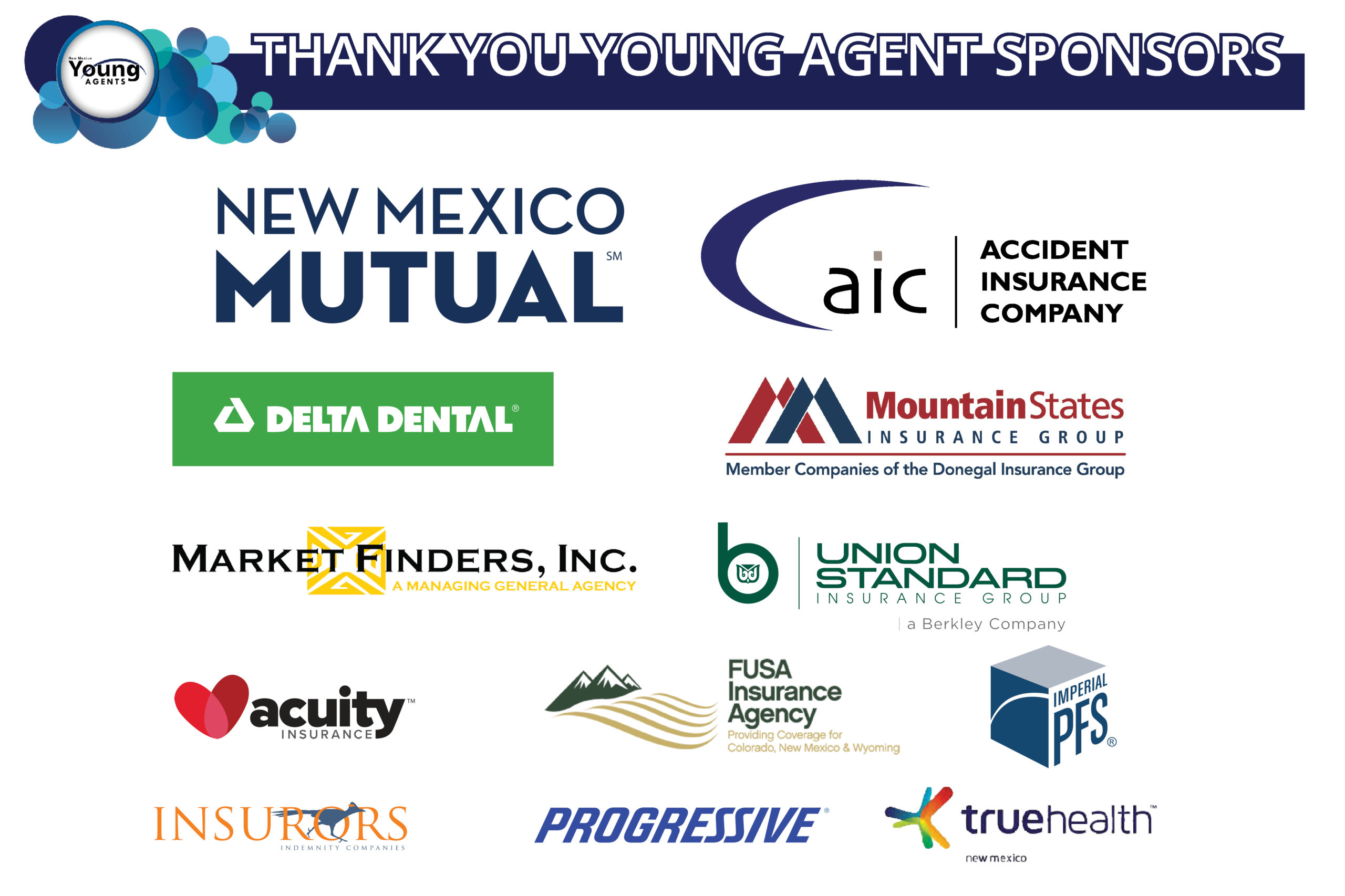 2021 young agent sponsors